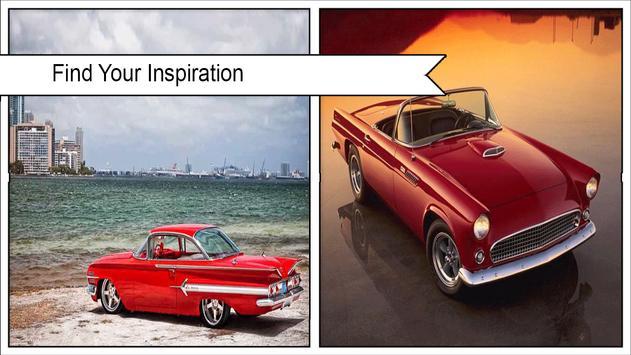 Classic Cars Wallpaper poster
