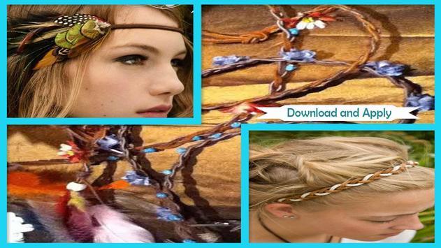 Easy DIY Braided Leather Headband screenshot 2
