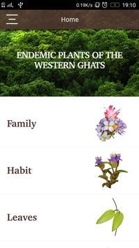 Endemic Plants poster