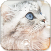 Cute Kitty Live Wallpaper icon