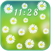Camomiles Flowers LWP icon