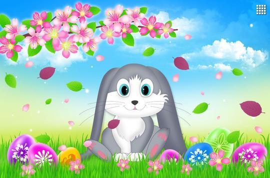 Easter Bunny Live Wallpaper screenshot 3