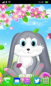 Easter Bunny Live Wallpaper poster