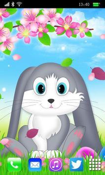 Easter Bunny Live Wallpaper apk screenshot