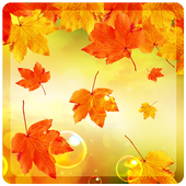 Leaves Falling Free Live Wallpaper icon