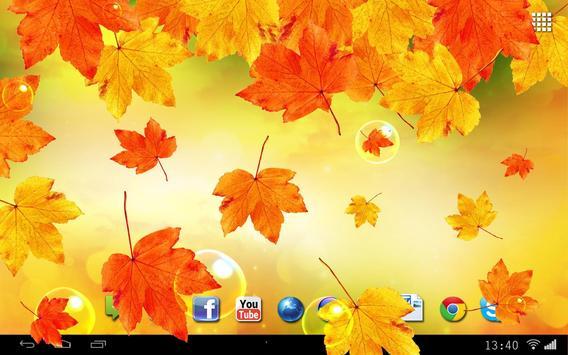 Leaves Falling Free Live Wallpaper apk screenshot