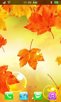 Leaves Falling Free Live Wallpaper screenshot 1