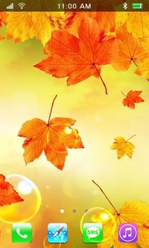 Leaves Falling Free Live Wallpaper screenshot 2