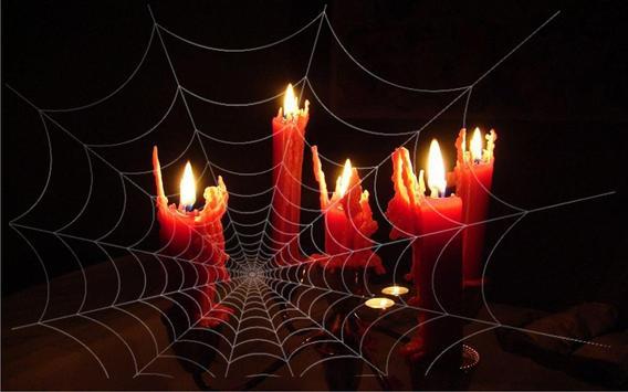 Halloween Candle live Wallpaper apk screenshot