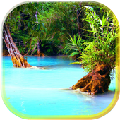 Jungle Lake Live Wallpaper icon