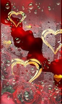 Rose Gold Hearts LWP screenshot 2