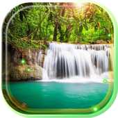 Waterfall Cool live wallpaper icon