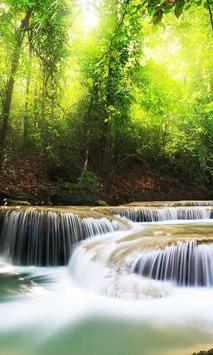 Waterfall Cool live wallpaper screenshot 1