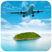 Air airliner puzzle icon
