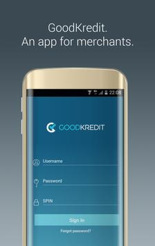 GoodKredit Mobile POS poster