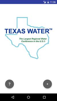 Texas Water poster
