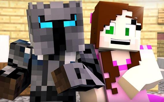 PopularMMOS Skin For MCPE poster