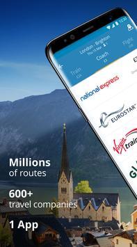 GoEuro: trenes, buses y vuelos Poster