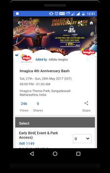 Local Events Finder - Goeventz apk screenshot