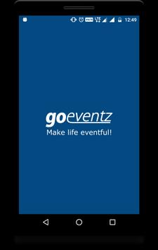Local Events Finder - Goeventz poster