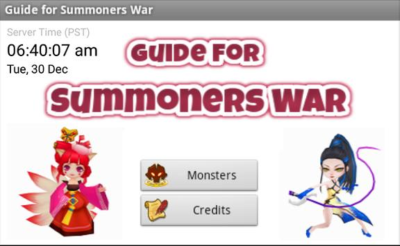 Guide for Summoners War poster