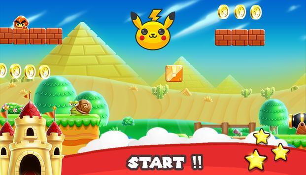 Pikachu GO Subway Poke-mon apk screenshot