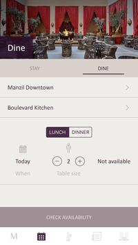 Manzil Downtown Booking App screenshot 6