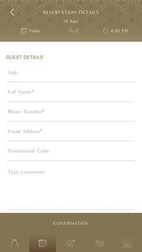 Palace Downtown Booking App screenshot 7