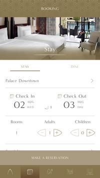 Palace Downtown Booking App screenshot 4