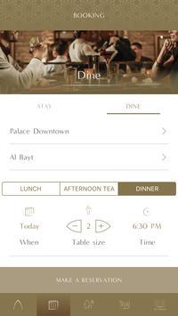 Palace Downtown Booking App screenshot 6