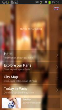 Hotel Britannique apk screenshot