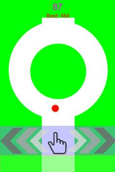 Red Dot Stay in Line apk screenshot