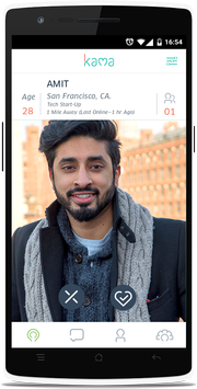 Kama - South Asian Dating screenshot 1