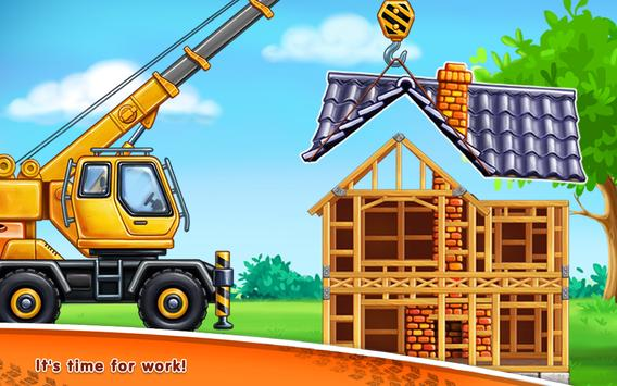 jeux de camion pour enfants construction maisons pour android t l chargez l 39 apk. Black Bedroom Furniture Sets. Home Design Ideas