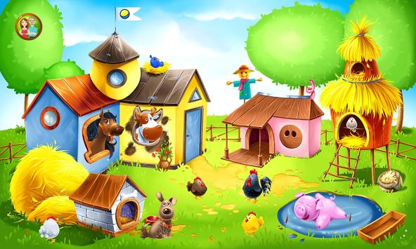 animal farm for kids learn animals for toddlers apk screenshot - Animal Pictures For Toddlers