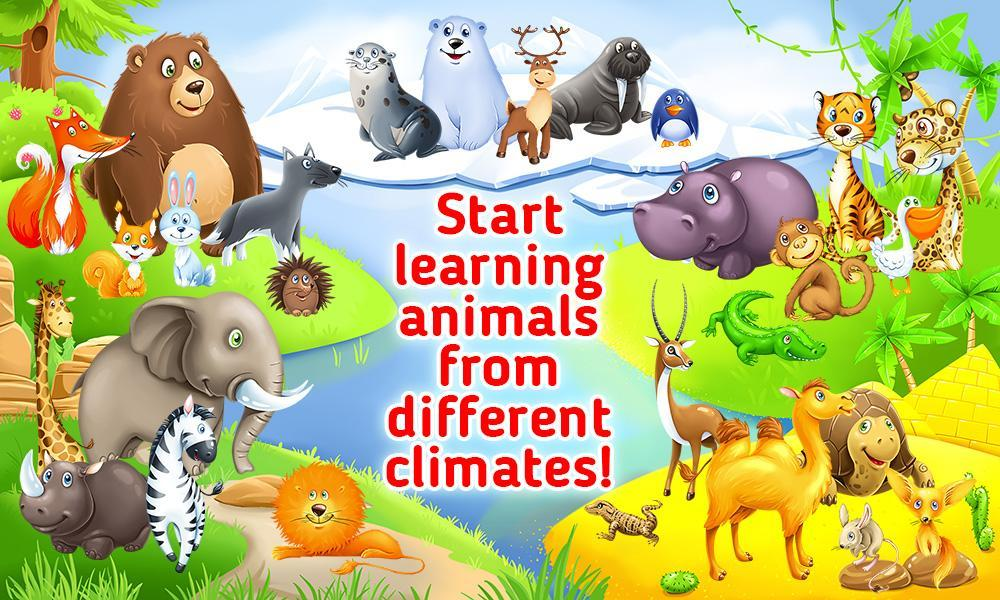Learning Animals For Toddlers Educational Game For Android Apk Download