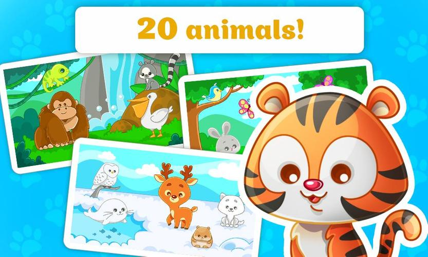 Animal Puzzles For Toddlers Kids Learning Animals Apk 1 0 10 Download For Android Download Animal Puzzles For Toddlers Kids Learning Animals Apk Latest Version Apkfab Com