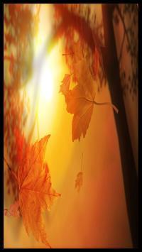 Autumn Digital Clock apk screenshot