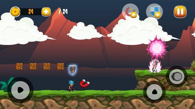Goku Saiyan Ultimate Adventure apk screenshot