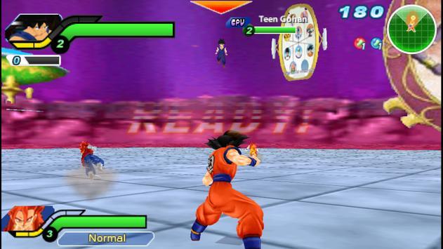Ultimate Tenkaichi Dragon Tag Tim Ball Z Budokai imagem de tela 1