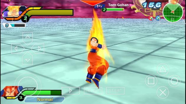 Ultimate Tenkaichi Dragon Tag Tim Ball Z Budokai imagem de tela 2
