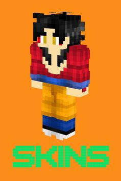 GOKU Skins Para MCPE For Android APK Download - Skins para minecraft pe de goku