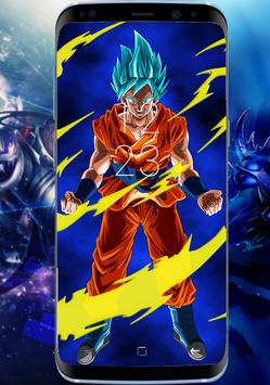 Goku Wallpaper 4k Amoled HD Lock Screen apk screenshot