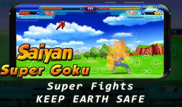Super Goku Saiyan Fighter screenshot 3