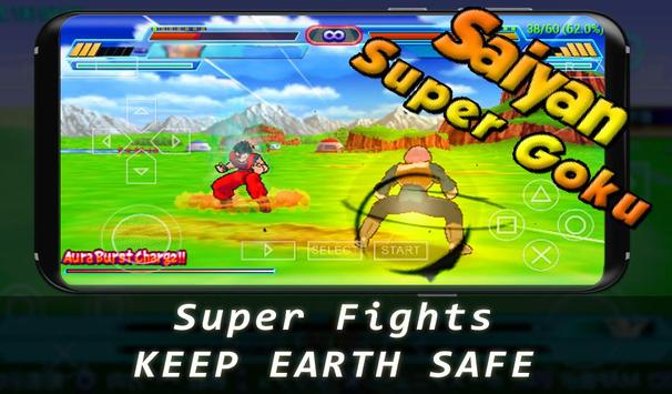 Super Goku Saiyan Fighter screenshot 1
