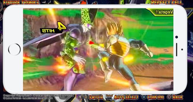 Saiyan Ultimate Xenoverse Fusion تصوير الشاشة 2