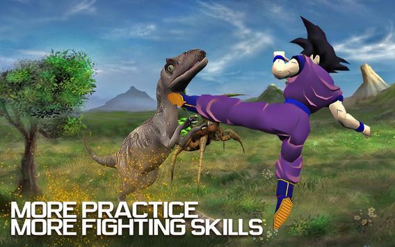 Hero Goku Saiyan Super Fighting Expert screenshot 2