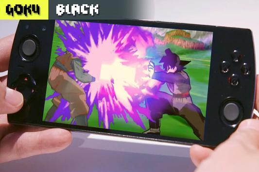 Goku Black Budokai Tenkaichi poster