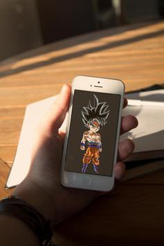 Goku Chibi Art Wallpaper screenshot 6