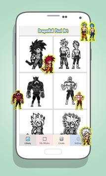 Goku Coloring By Number Dragonball Super Pixel Art For Android Apk